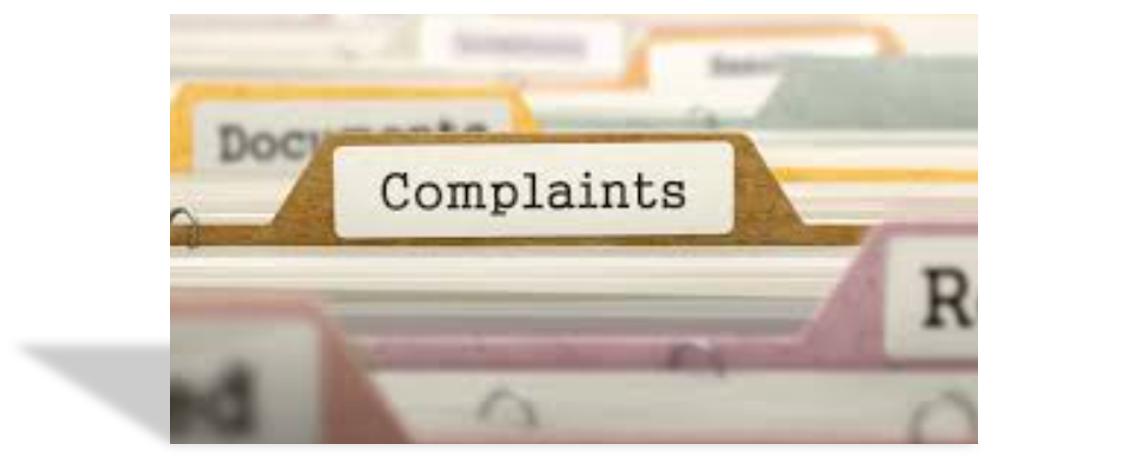 Complaints 1-1